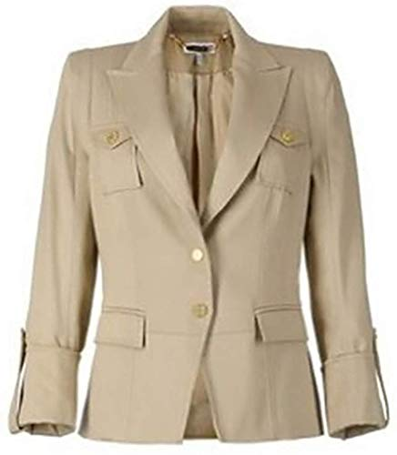 Mooie blazer van Apart in de kleur beige maat 38