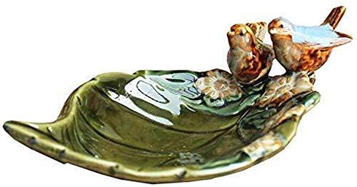 Cenicero de hoja de cerámica accesorio de escritorio cenicero organizador de joyas caja de almacenamiento de jabón