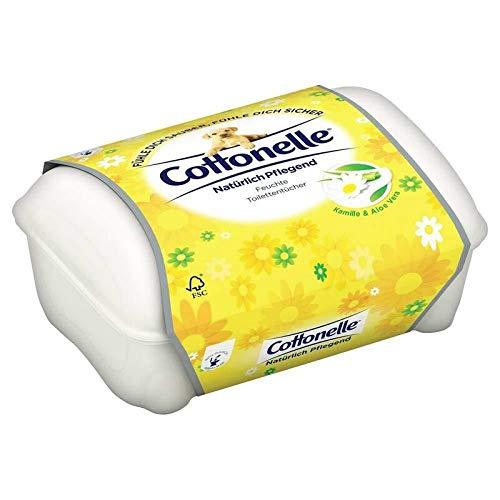 Cottonelle Feucht Box, Natürlich pflegen, 44 Stück