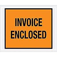 Top Pack Supply Tape LogicInvoice Enclosed Envelopes 4 1/2 x 5 1/2 Orange (Pack of 1000) [並行輸入品]