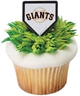 MLB San Francisco Giants Cupcake Rings - 24 ct