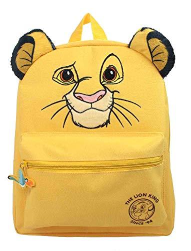 Lion King Abby Roxy Kinder-Rucksack, Segeltuch, perfekte Schultasche, Kindergarten- oder Vorschultasche, für Kinder und Kleinkinder