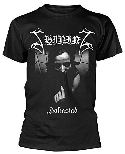 SHANTOU Sommart-shirt för herrar lysande Halmstad – ny & !, Svart, 3XL