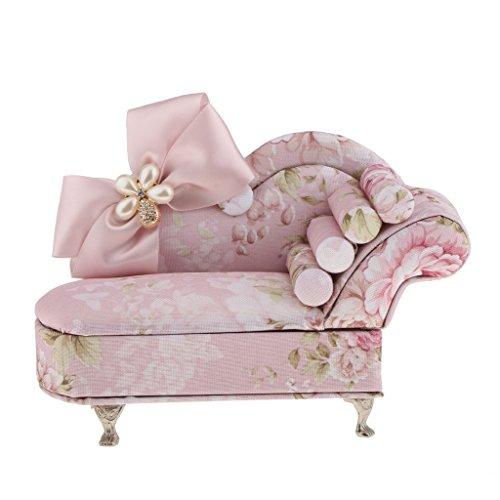Colgante de joyería con forma de sofá para niños, diseño de sillón