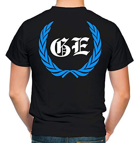 Gelsenkirchen Kranz T-Shirt | Liga | Trikot | Fanshirt | Bundes | M1 (L)