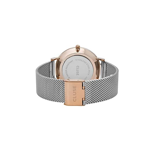CLUSE Womens Analogue Classic Quartz Connected Wrist Watch with Stainless Steel Strap CL18116