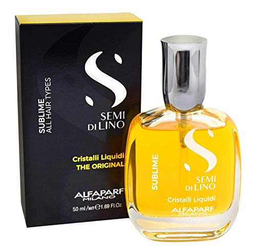 Alfaparf Semi Di Lino Diamond Cristalli Liquidi Instant Illuminating Serum 50ml 1.69oz by AlfaParf