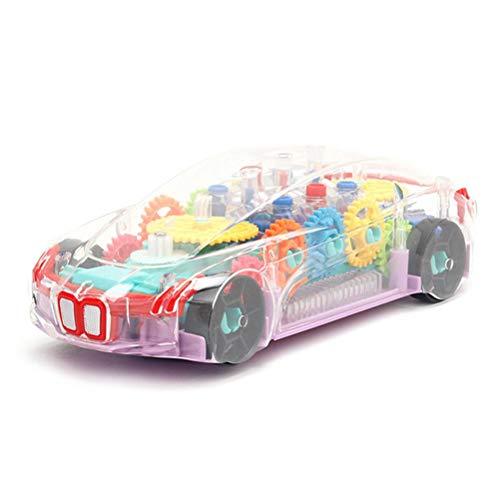 Coche de carreras eléctrico Coches de pista Coches de juguete con luz...