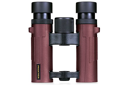 Praktica 10x 26mm Pioneer Fernglas–Rot