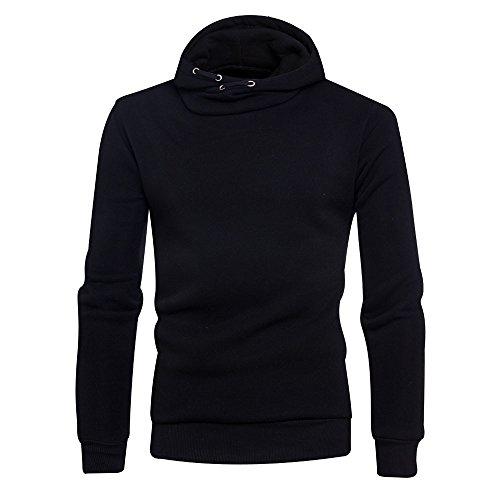 Luckycat Neuer Herren Winter Solid Hoodie mit Kapuze Pullover Sweatshirt Mantel Jacke Outwear Mode 2018