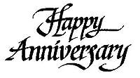 アートスタンプHappy Anniversary Celebration Stamp