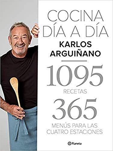Cocina día a día: 1095 recetas. 365 menús para las cuatro