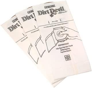 Dirt Devil Type G Handheld Vacuum Bags (3-Pack), 3010347001, White