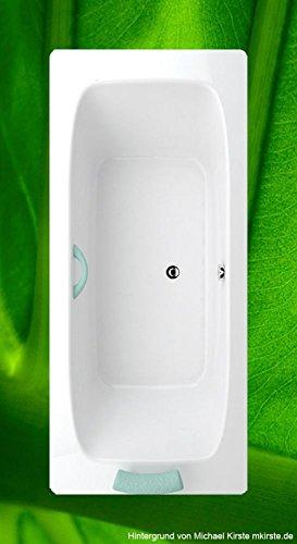 Badewanne KLASIK C 180x80-80x180 Acryl Rechteckbadewanne