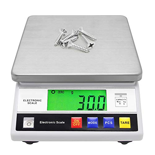 CGOLDENWALL High Precision Scale 10kg 0.1g Digital Accurate Electronic Balance Lab Scale Laboratory Industrial Scale Weighing and Counting Scale Scientific Scale CE 0.1g (10kg, 0.1g)