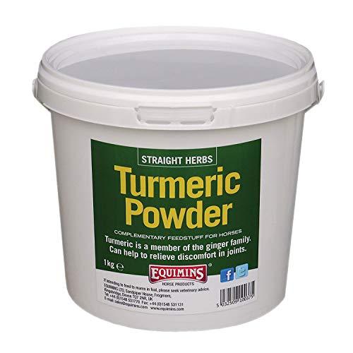 Equimins - Pure Ground Turmeric Powder - 3% Curcumin - Stiff Joints, Arthritis, Sarcoids - 1kg