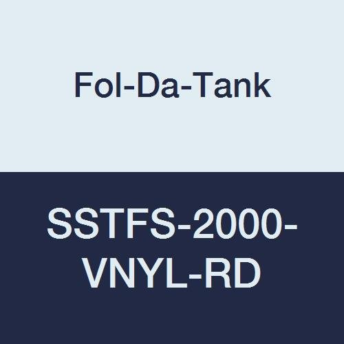 Fol-Da-Tank Clearance SALE Limited time SSTFS-2000-VNYL-RD Self-Supporting Portable Water Ta Philadelphia Mall