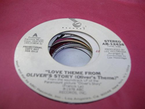 FRANCIS LAI 45 RPM Love Theme From Oliver's Story (Oliver's Theme) / Same
