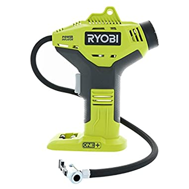 Ryobi P737 18V ONE+ Portable Cordless Power Inflator for Tires, Battery Not Included