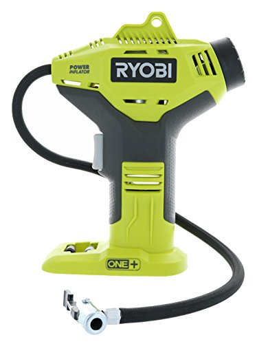 RYOBI P737 18-Volt ONE+ Portable Cordless Power Inflator for Tires (Battery Not Included, Power Tool Only)