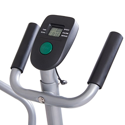 Product Image 8: Body Rider Elliptical Trainer and Exercise Bike with Seat and Easy Computer / Dual Trainer 2 in 1 Cardio Home Office Fitness Workout Machine BRD2000