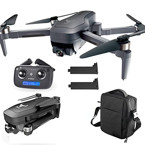 ANAN GPS Drone con Telecamera HD 4K, 5G WiFi FPV RC Quadcopter, Drone Professionale con Telecamera ESC a 110 °, Distanza del Telecomando di 1200m con Luce LED, GPS Ritorno Automatico