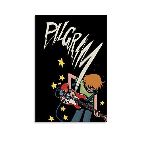 Scott Pilgrim Vs The World Comic Art Canvas Art Poster and...