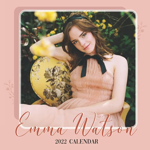 2022 Calendar: Emma Watson - Yearly Monthly 18-month Calendar 2022 with...