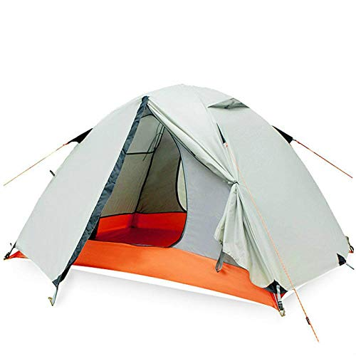 XTBB 2Person Double-Layer Double Tent Wild Camping Outdoor Mountaineering Beach Equipment Four Seasons Rainstorm Tent 3