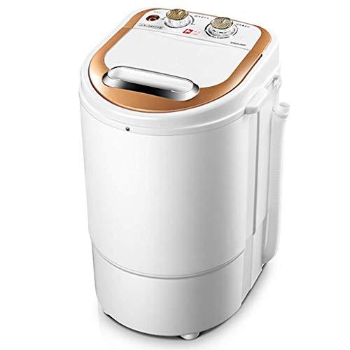 WCY Gegenober Waschmaschine, Mini-Waschmaschine, tragbare Kompaktbauweise Multifunktionswäsche Waschmaschine/Spinner Halbautomatik 2 kg Top Load Mini-Waschmaschine yqaae