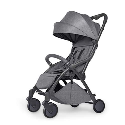 Kinderwagen - umwandelbarer Stubenwagen Kinderwagen Compact Single Kinderwagen Kindersitz Kinderwagen Luxus Kinderwagen Kinderwagen hinzufügen Cupholder Fußsack