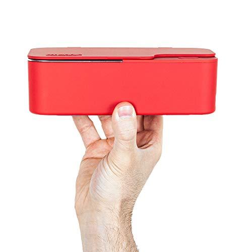 Design Ultraschallreinigungsgerät/Ultraschallgerät 450ml – Ultraschallreiniger für Brillen inkl. 50ml Konzentrat