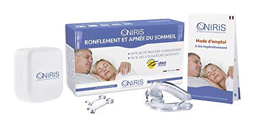 Oniris l'Orthèse Anti-Ronflement Made in France validée cliniquement sur l'apnée du sommeil et ses conséquences