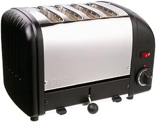 Dualit Classic 4-Slice Toaster, Black