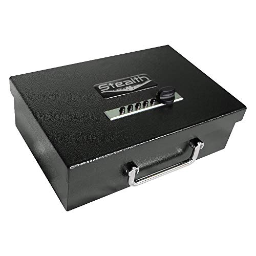 Stealth Portable Handgun Safe Mechanical Pistol Box STL-PB-EZ