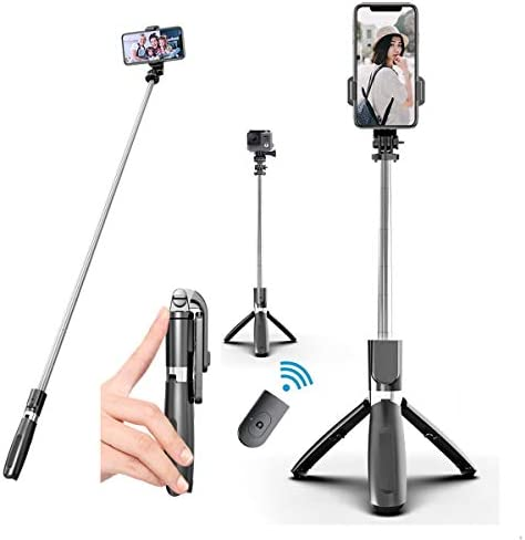Aophire Wireless Selfie Stick Tripod 39 3 inch Extendable Travel Selfie Stick Phone Tripod with product image