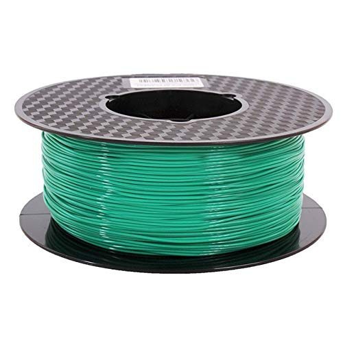 JIALUN ZFX-DAYIN, 1pc PLA Matte Finish 1,75 Mm 1 Kg 3D-Drucker-Filament Mit Einer Unglaublichen Vibrant 3D Pen Druckmaterialien (Color : Green)