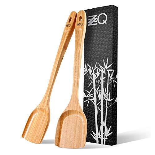 ZZQ Natural Bamboo Wok Spatula