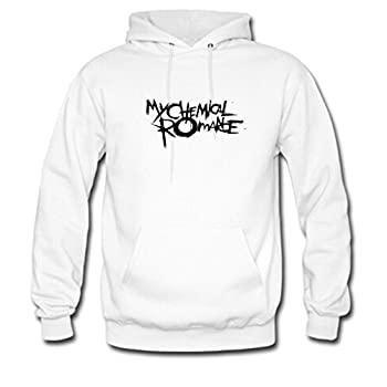 Custom Unisex My Chemical Romance Hoodie Print Men s/Women s Hoodies US XL White