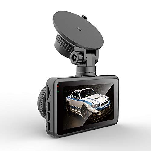 DREI-Zoll-dashcam Versteckt Hd 720p Vorne Und Hinten Dual-objektiv-parküberwachung Mobile Erkennung