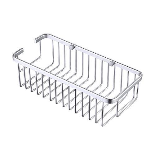 KES douchemand douchebak badkamerrek aluminium, rechthoekige wandhouder, A4023