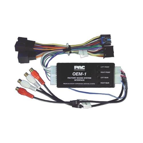 Pac Aoemgm1416 Amplifier Amp Integration Interface For Select '06 - Up Gm