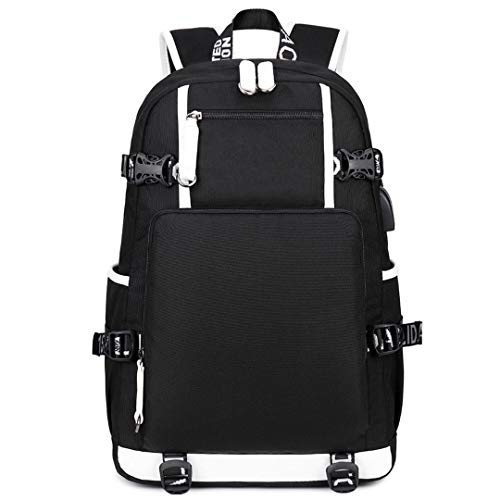 TIK TOK Golden USB Headset Youth Student Schoolbag Men and Women Leisure Travel Backpack