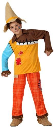 Atosa - Disfraz de espantapájaros para niño, talla 5-6 años (8422259160915)