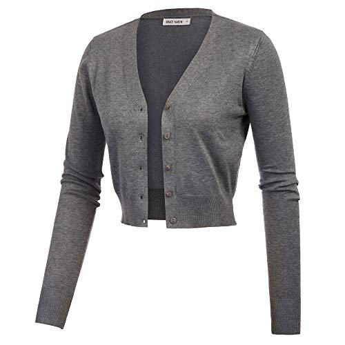 Sweater Big Button for Women's Formal