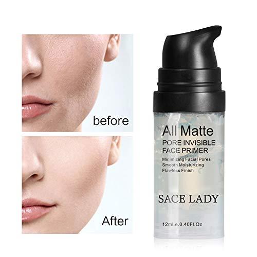 Hilai 1PC Foundation Maquillaje Primer Base de maquillaje Maquillaje Combinación Brightening Oil Control Face Primer Maquillaje Gel Aislante Cream Moisturizing Foundation Primer
