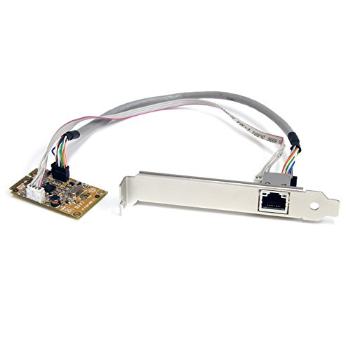 StarTech.com Mini PCIe Card - 10/100/1000Mbps RJ45 Port - IEEE 802.3 - Jumbo Frame - Network Card (ST1000SMPEX)