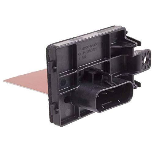 Manual Temp Control Blower Motor Resistor Fits 2006-2011 Milan - 2006-2012 Fusion - 2007-2012 MKZ Replace 4P1370 RU650 20450 YH1718 RU-650 YH-1718 6E5Z18591AA JA1508