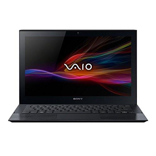 Sony VAIO Pro SVP1321L1EBI  33,8 cm (13,3 Zoll matt) Ultrabook (Intel Core i5 4200U, 1,6GHz, 4GB RAM, 128GB SSD, Intel HD 4400, NFC, Win 8) schwarz