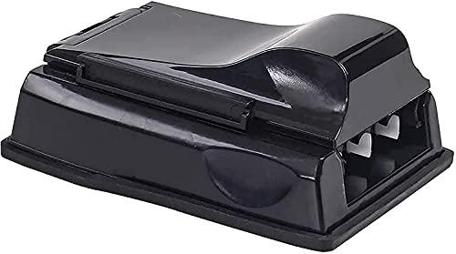 XXzhang Máquina automática para Liar Cigarrillos Operación Manual Tabaquera 3 Tubos Rodillo Manual para Cigarrillos - Inyector/llenador de Tabaco para Liar Hombre Padre Verde (